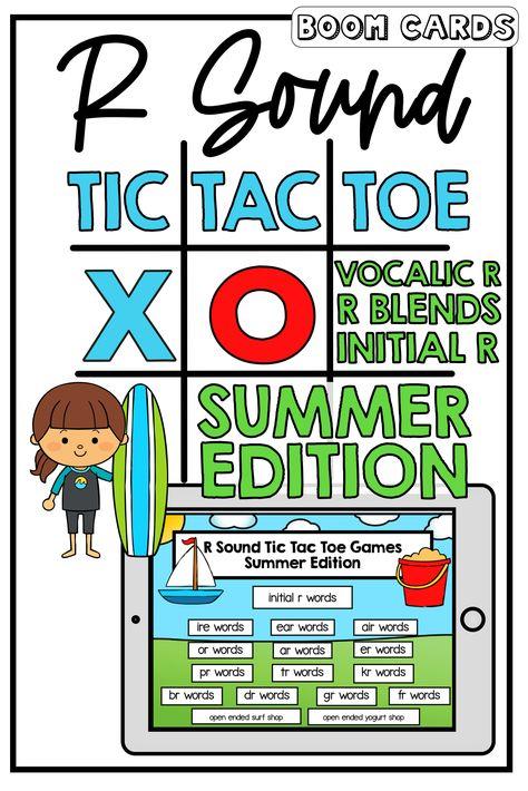 R Sound Tic Tac Toe: Summer Edition