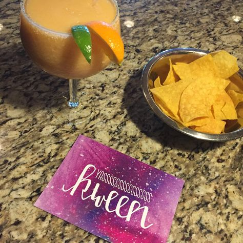 wishing i was sipping frozen margaritas right now lucky i have my