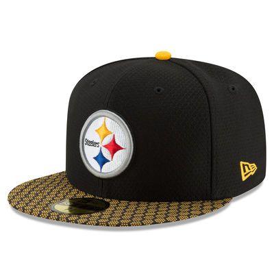 New Era Snapback Cap Black Sideline Washington Redskins
