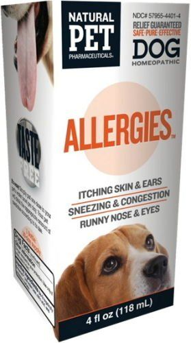 Tomlyn Dog Allergies 4oz Relief Allergy Itchy Eyes Ears And