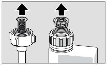 Bosch Dishwasher Water Supply Hose Filter Bosch Bosch Dishwashers Dishwasher