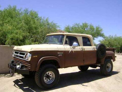 1971 Stepside 4x4 Crew Cab Dodge Truck Mitula Cars Dodge