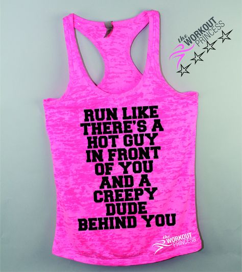c644dcf860 Run Like There's a Hot Guy in Front of You Funny Womens T-shirt ...