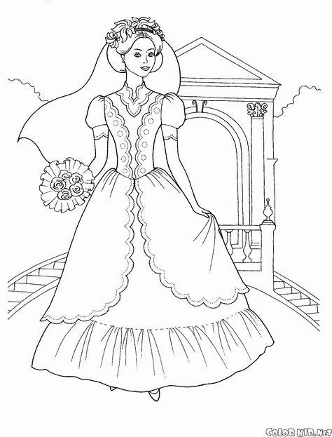 Boyama Sayfasi Gelin Buketi 2020 Prenses Gelinlikleri Gelin Buketi Buket