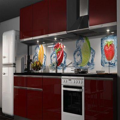 Wandpaneele mit Grasmotiv Küche \/ Essecke Pinterest Living - folie für küchenfront