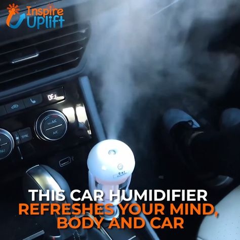 Auto Mini Car Humidifier 😍  Our best-selling, Auto Mini Car Humidifier combines the mood lifting benefits of aromatherapy and the soothing benefits of humidification in one, easy-to-use, little device. With each different essential oil you'll experience feelings of contentment and improved emotion.  Currently 50% OFF with FREE Shipping!