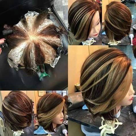 Pinwheel Color Technique: The Scalping Hair Dyeing Technique!