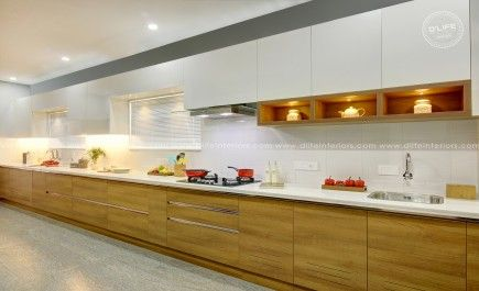 Modular Kitchen Interiors Of Mg Sreekumar Done By Dlife Interior Design Kitchen Kitchen Furniture Design Kitchen Interior