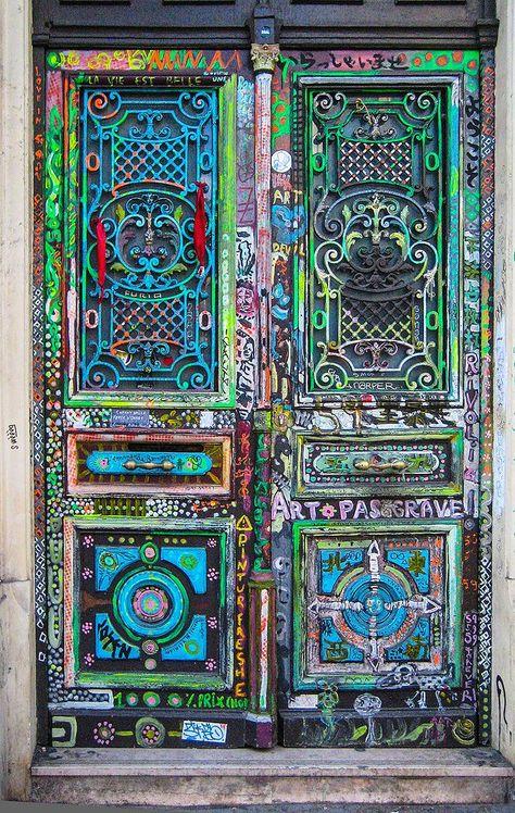 Hermosas puertas pintadas! https://stainlesssteelfabricatorsindelhi.wordpress.com/  https://upvcfabricatorsindelhi.wordpress.com/
