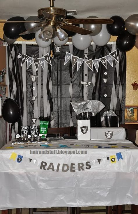 First off I looked everywhere for Raider Party ideas, and couldn't find any especially for kids.  Everything was d.i.y (do it yourself) EVER...