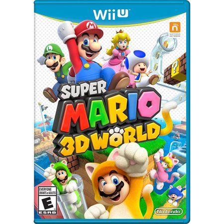 Shop By Video Game Super Mario 3d Wii U Games Super Mario