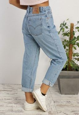 Vintage Levi S 550 High Waisted Jeans Mid Wash Vintage Jeans Outfit High Waisted Jeans Vintage Vintage Jeans