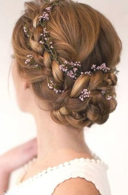 Wedding Hairstyles Thin Long Up Dos 56 Ideas For 2019 In 2020 Medium Hair Styles Up Dos For Medium Hair Simple Wedding Hairstyles