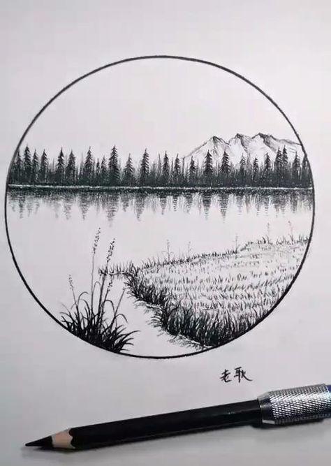 Free Hand Pencil Sketching Tutorial Video