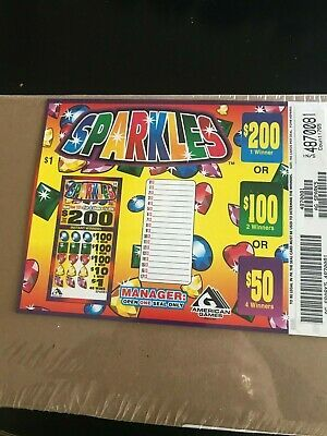Sparkles Pull Tabs 5 Window 765 Tickets Free Shipping Usa Only In 2020 Pull Tab Free Raffle Sparkle