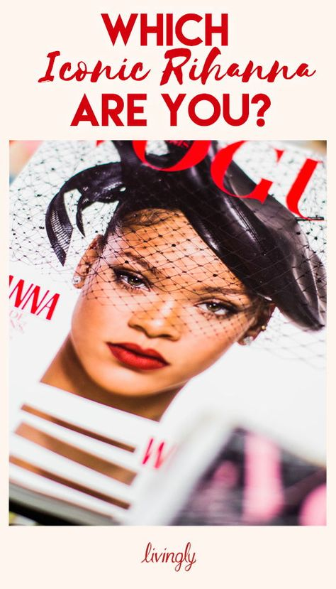 Which Rihanna are you? Take our quiz and find out!