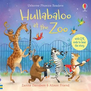 Show Details For Hullabaloo At The Zoo Qr Phonics Readers Usborne Books Zoo Pictures