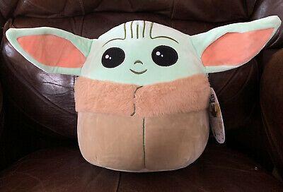 Squishmallow 20 in Star Wars The Child Baby Yoda Kellytoy