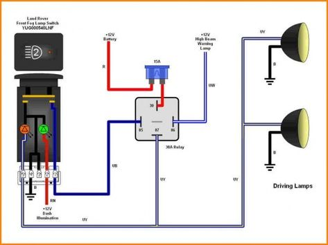 spdt switch wiring diagram lighthouse aux light wiring diagram 5 wire relay trailer light wiring  aux light wiring diagram 5 wire relay