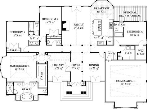 Ballantyne Place House Plan House Plans Floor Plans Ranch Floor Plans