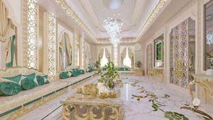 Arabic Women Majlis In 2020 Neoclassical Interior Design Interior Design Dubai Classic Interior Design
