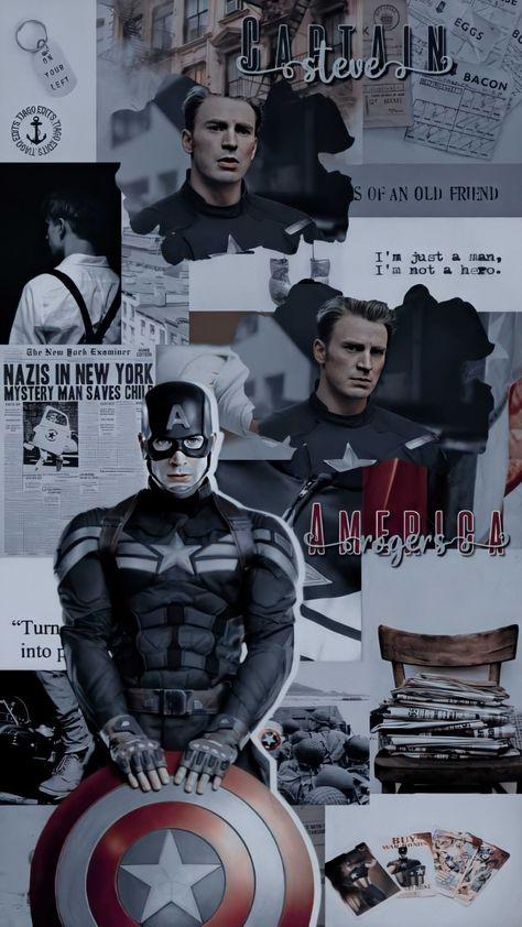 Character - Captain America (Steve Rogers)