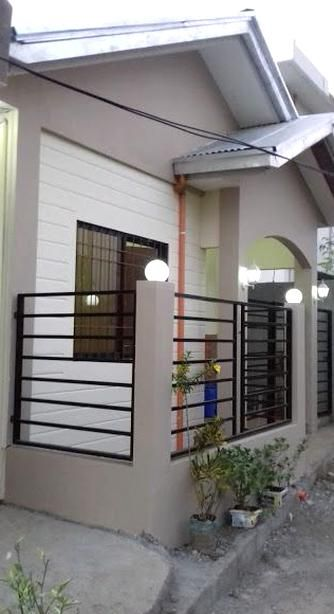 Space Saving House Plans House Worth P400k Material Cost Estimates And Furnitures In 2020 House Gate Design Philippines House Design Bungalow House Design