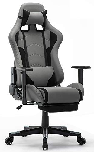 Intimate Wm Heart Chaise Gaming Avec Repos Pieds Fauteuil Gaming En Tissu Racing Chaise De Bureau Ergo Chaise Gaming Chaise Bureau Chaise De Bureau Confortable