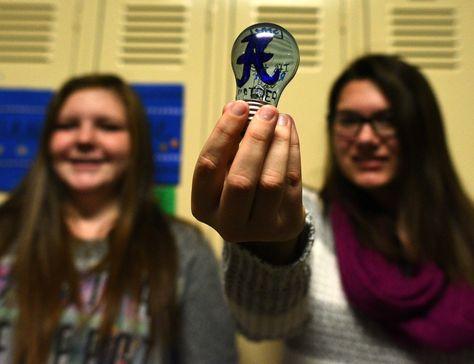 Sharpies abound at Anamosa High School - Thanks to teacher librarian Melissa Kane