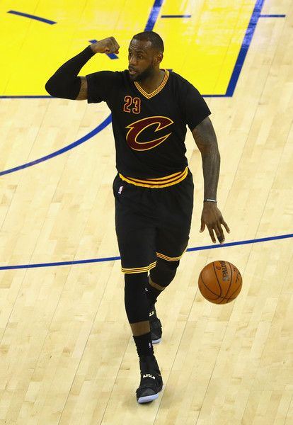 LeBron James Photos - LeBron James #23 of the Cleveland Cavaliers dribbles during the second half against the Golden State Warriors in Game 5 of the 2016 NBA Finals at ORACLE Arena on June 13, 2016 in Oakland, California. NOTE TO USER: User expressly acknowledges and agrees that, by downloading and or using this photograph, User is consenting to the terms and conditions of the Getty Images License Agreement. - 2016 NBA Finals - Game Five