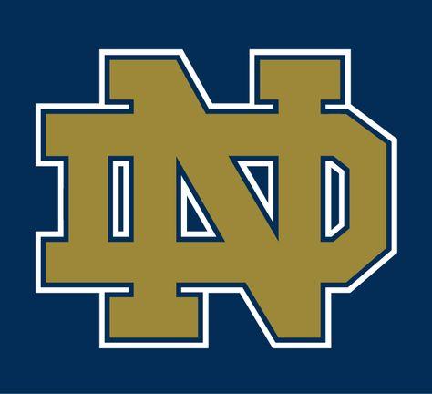 Notre Dame Fighting Irish Alternate Logo on Chris Creamer's Sports Logos Page - SportsLogos. A virtual museum of sports logos, uniforms and historical items.