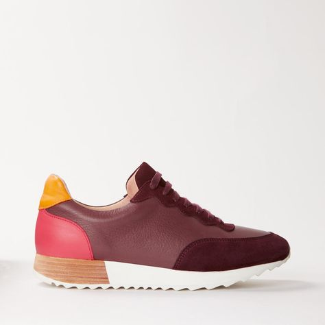 John Lewis & Partners Fearne Trainers, Red   Trainers