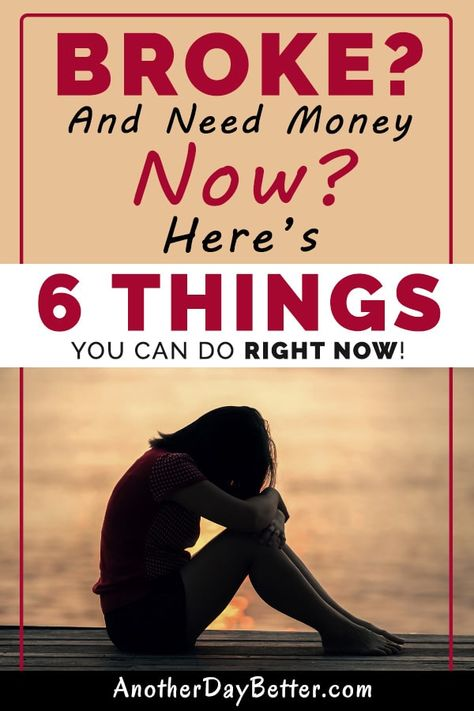 Are you broke, unemployed, and need money now? In this post, you will learn the best ways to make money when you are dead broke.