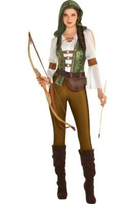 Womens Robin Hood Huntress Costume in 2019 | Costumes