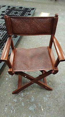 Superieur Pair Of Folding Koobu Wood And Leather Directors Chair | Pinterest | DIY  Furniture And Woods