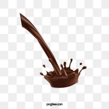 Chocolate Milk Splash Png