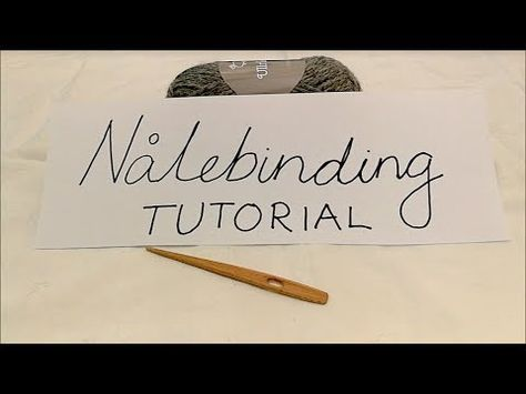 Nalbinding is a Scandinavian fabric-making technique which pre-dates knitting. Learn about nalbinding pattern directions, and how to make York and Oslo stitches. Knitting Stitches, Free Knitting, Knitting Patterns, Scandinavian Fabric, Hat Tutorial, Tablet Weaving, Viking Knit, Yarn Crafts, Knitting Projects