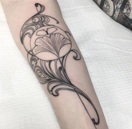 33 Trendy Art Nouveau Tattoo Woman Design Art Nouveau Tattoo Nouveau Tattoo Art Nouveau Floral Tattoo