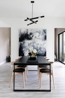 Dining Room Lighting Ideas From Popular Styles To Where To Shop Hunker Dining Room Design Modern Contemporary Dining Room Design White Dining Room