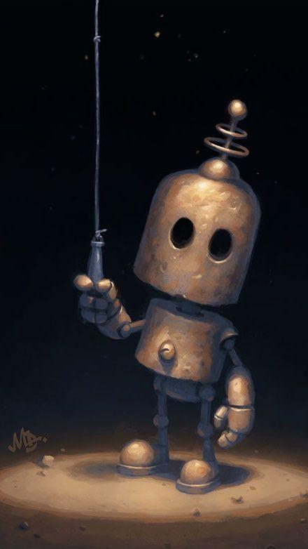 Robot 9 16 In 2020 Robots Artworks Robot Illustration Robot Art