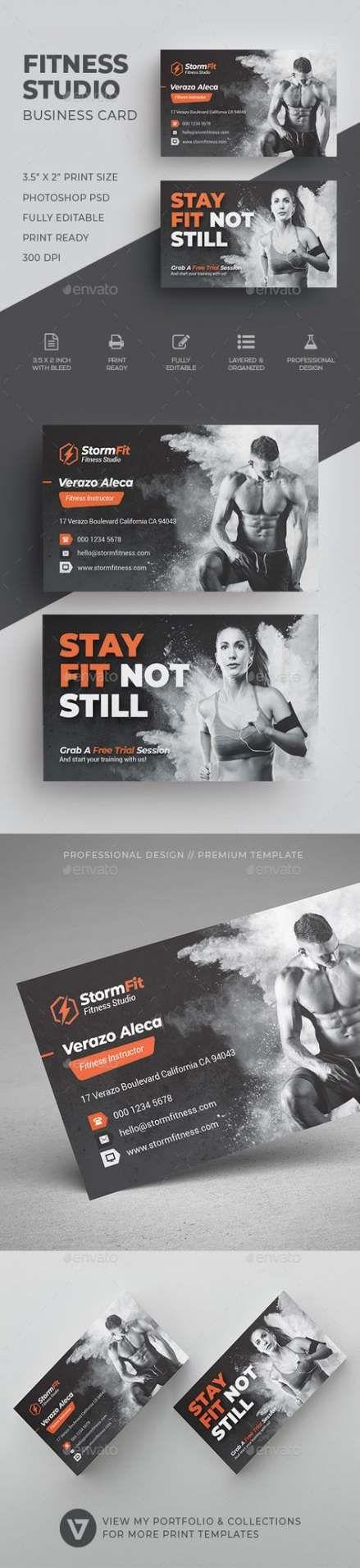 Super Fitness Logo Design Gym Business Cards Ideas Fitness Business Card Fitness Business Business Card Design