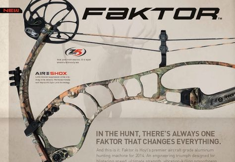 Hoyt Faktor | Compound Bows | Hoyt archery, Bow arrows, Archery