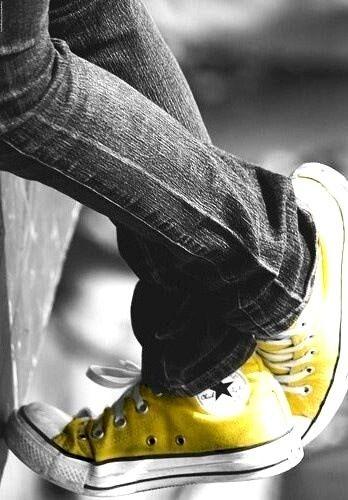 converse chuck taylor gialle