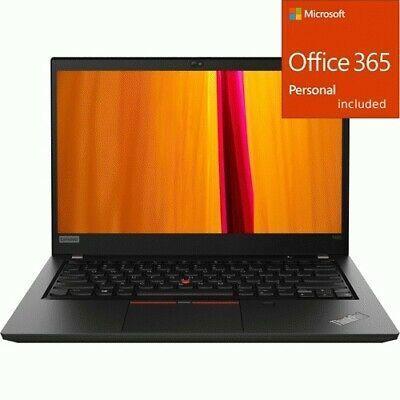 Lenovo Thinkpad T495 20nj0004us 14 Touchscreen Notebook Lenovo Thinkpad Lenovo Office 365 Personal