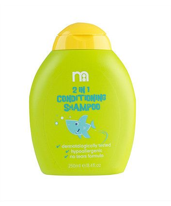 Mothercare 2 In 1 Conditioning Shampoo 250ml Conditioning