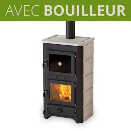 Poele A Bois Bouilleur Avec Four Thermo Vulkan Plus En 2020