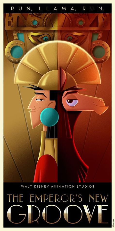 The Emperors New Groove Avec Images Kuzco Disney Affiches