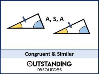 Angle Rules 7 Congruent And Similar Triangles Or Shapes