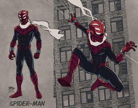 Mike Dimayuga's Spider-Man redesign