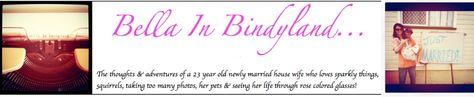 blogs bella in bindyland